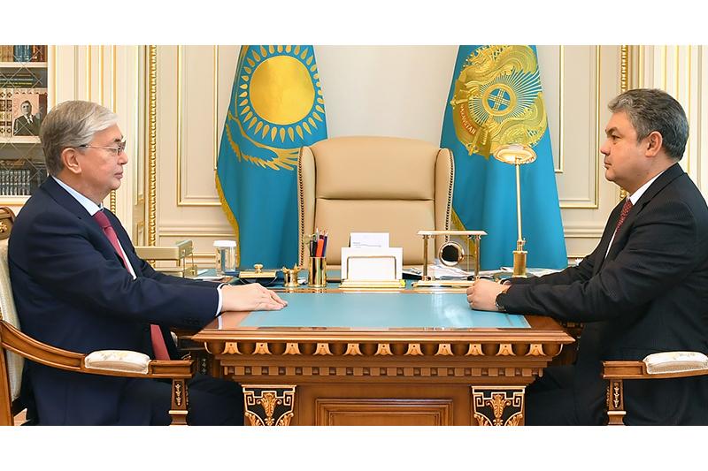 Президент Ермек Көшербаевты қабылдады